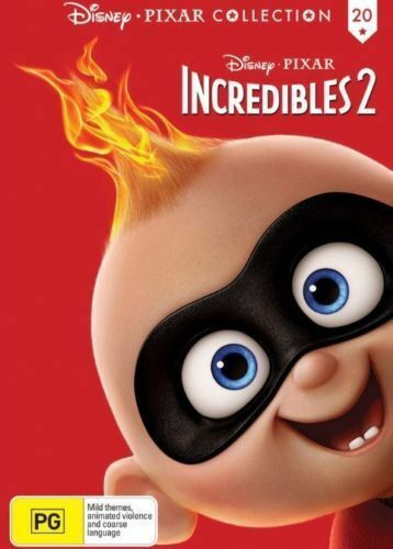 THE INCREDBLES 2 DVD - (pal)