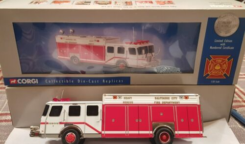 Voiture de pompiers E.ONE Rescue CORGI 52206 Baltimore