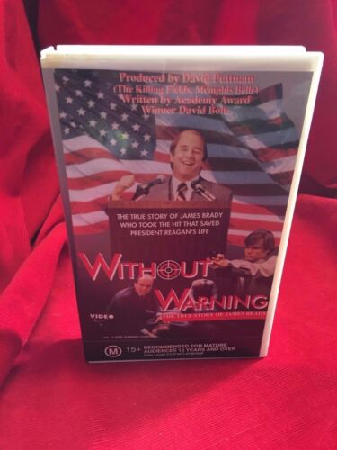 Without Warning VHS Video Tape Satellite Video Beau Bridges