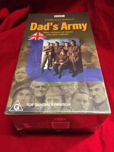 Dad's Army Collectors Edition VHS Video Tape BBC New And Sealed Box Set