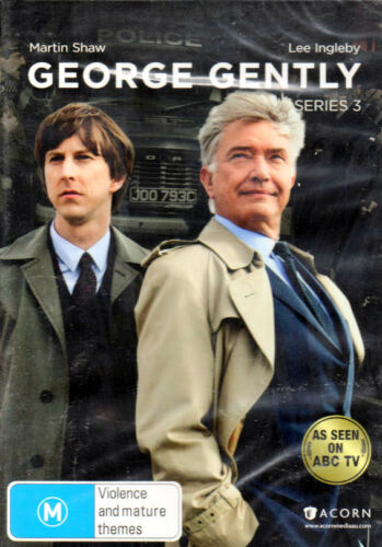 'George Gently' Series 3 - Martin Shaw, Lee Ingleby - New & Sealed DVD