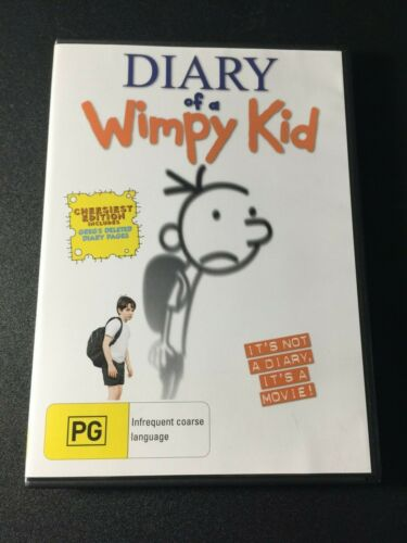 DIARY OF A WIMPY KID DVD LIKE NEW- fast postage