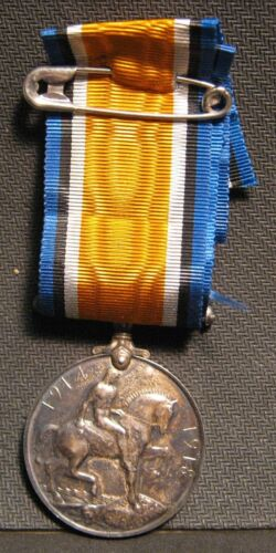 British War Medal 1914-1918 Great Britain  - Name of the Awarded on The EdgeMedals, Pins & Ribbons - 156404