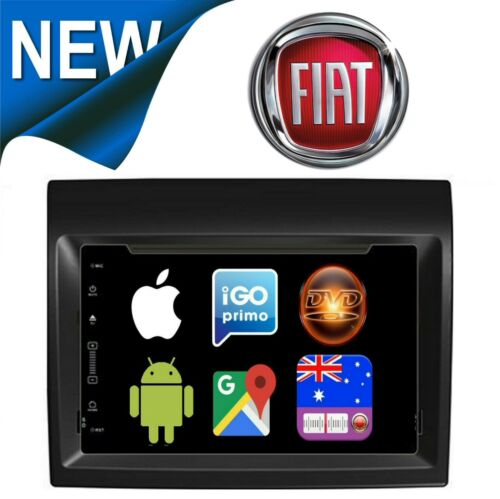 FIAT DUCATO 2011 - 2014 GPS APPLE CARPLAY ANDROID AUTO + CAMERA FACTORY FIT