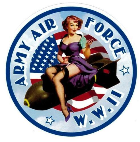 ARMY AIR FORCE PIN UP