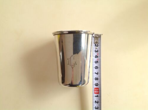 ANTIQUE 73 GR. STERLING SILVER TRAVEL CUP!