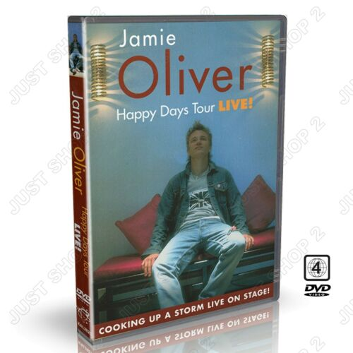 Jamie Oliver - Live on Stage Cooking Up A Storm : New DVD