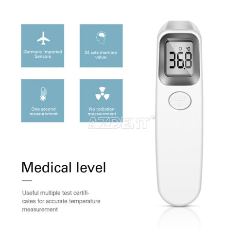 Forehead LCD Digital Infrared Thermometer ABS Non-contact Body Temperature Meter