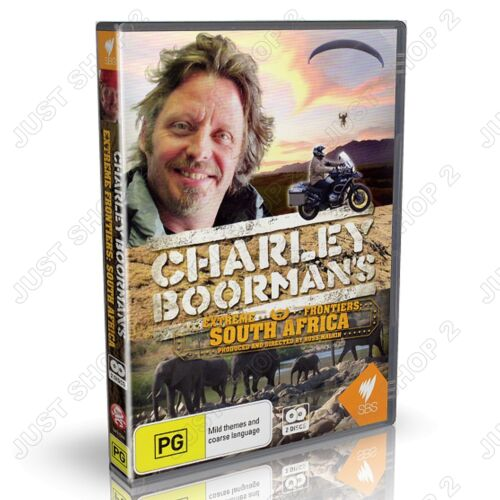 Charley Boorman's South African Motorbike Adventure : New 2 DVD Set