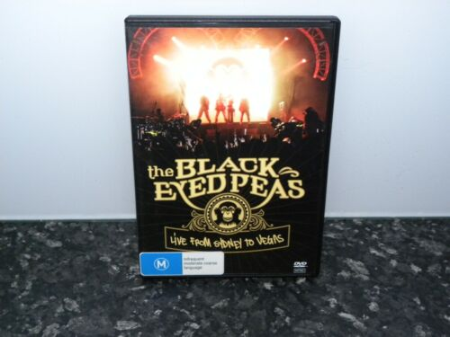 The Black Eyed Peas: Live from Sydney to Vegas  DVD - Excellent Disc