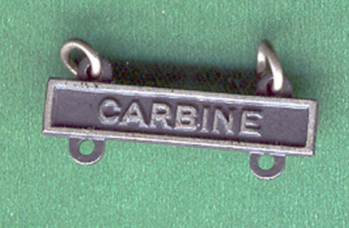 ARMY CARBINE BAR BADGE QUALIFICATION Other Militaria - 135