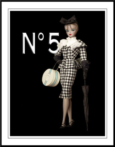 Chanel Barbie #1 Art Canvas Print 16 x 20    #3497