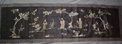 "ORIG $699 CHINESE ANCIENT BANNER 44"" prov"