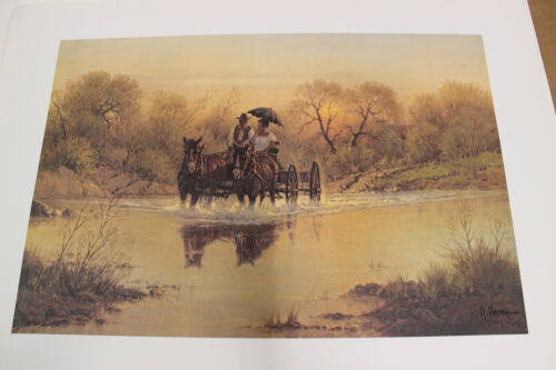 G. Harvey Courtin Days Print Limited Edition 1832 / 2250