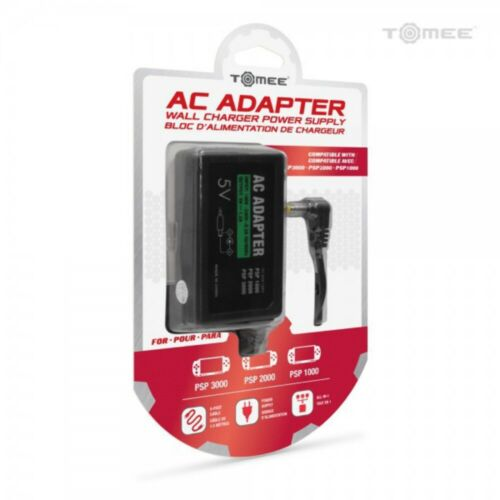 Tomee AC Adapter For PSP 1000 2000 3000 NEW