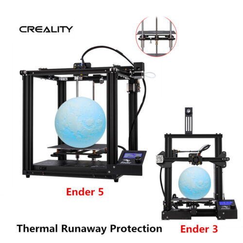 Newest Creality Ender 3/Ender 5/Ender 3 Pro 3D Printer DC 24V 1.75mm PLA 2019
