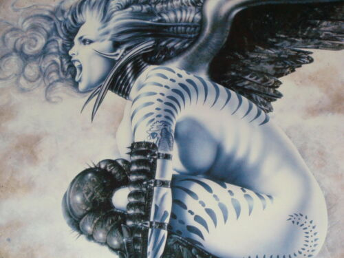 "OLIVIA DE BERARDINIS LIMITED EDITION DUAL SIGNED & NUMBERED ""BANSHEE"" J. STRAIN"
