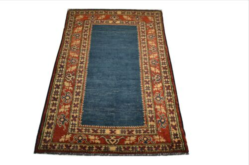 """Crafters&Weavers Oriental rug Kazak Vegetables Dyes size 3' 0""""  x 5' 0""""  # A 26"""
