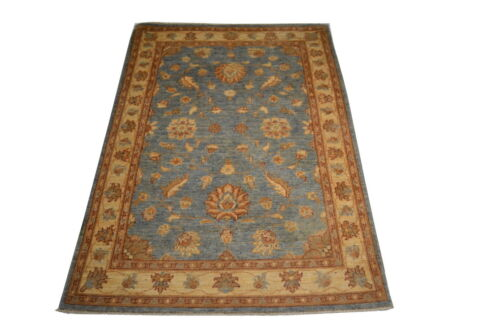 """Crafters&Weavers Oriental rug Chobi Vegetables Dyes size 3' 4""""  x 4' 10""""  #2981"""