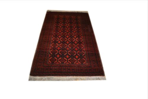 """Crafters&Weavers Oriental rug Tribal Vegetables Dyes size  3' 6"""" X 6' 7"""" # 1052"""