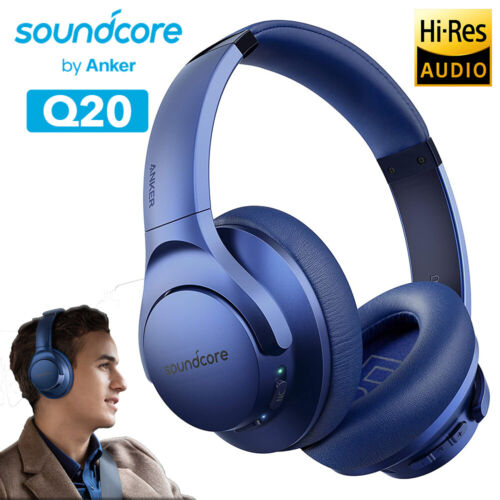 Soundcore Life 2 Active Noise Cancelling Over-ear Wireless Headphone Hi-res