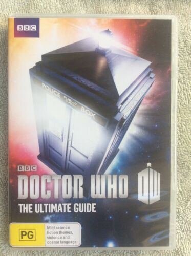 DOCTOR WHO: THE ULTIMATE GUIDE (DVD, R4, Free Postage)