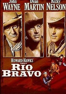 Rio Bravo DVD John Wayne Dean Martin Ricky Nelson New Sealed ALL REGIONS