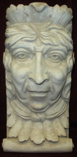 OLD LADY WALL CORBEL BRACKET SHELF ARCHITECTURAL ACCENT HOME DECOR