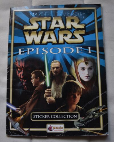 Star Wars Episode 1 Sticker Collection KOMPLETT, Menace Collections