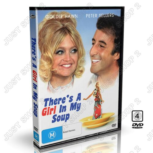 There's A Girl In My Soup DVD : Movie / Film Goldie Hawn : Brand New