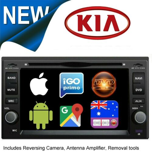 for KIA GRAND CARNIVAL DVD CD GPS  BLUETOOTH APPLE CARPLAY ANDROID AUTO