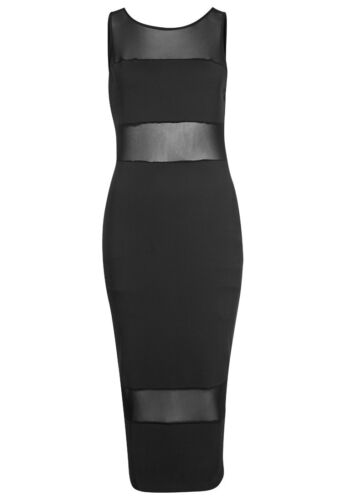 WORN ONCE - IMMACULATE SUPERTRASH FITTED BODYCON - SMALL BLACK DALVIN
