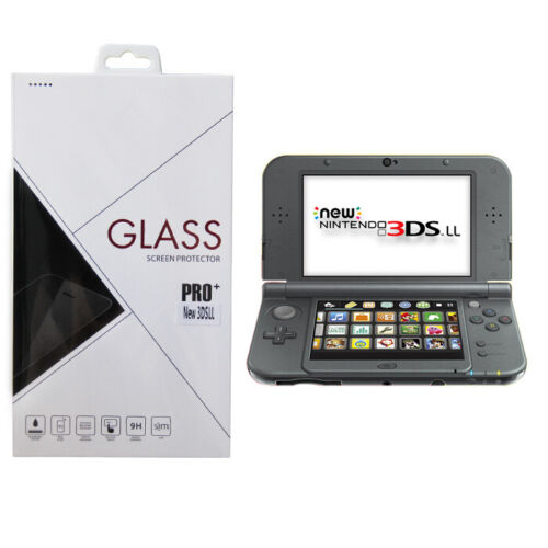 9H Glass LCD Screen Guard Protector for New Nintendo 3DS XL / LL ( 2014 Model )