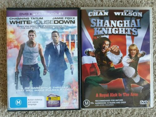 White House Down And Shanghai Knights DVD