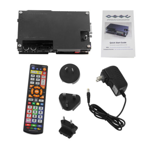 OSSC HDMI Open Source Scan Converter With Remote Set For Game Console PS1 2 Xbox