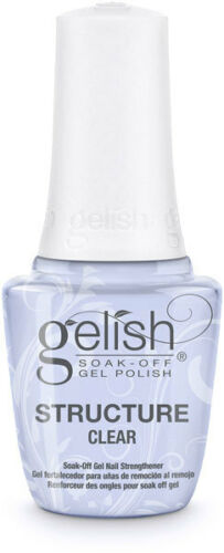 """Harmony Gelish UV Structure Gel """"CLEAR"""" in the bottle 0.5oz **BRAND NEW**"""
