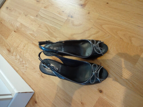 Ladies, grey, Enzo Angiolini sandals, size 4 UK, 6.5 US