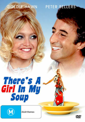 There's a Girl in My Soup - Goldie Hawn, Peter Sellers - Region 4