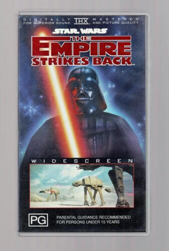 Star Wars - The Empire Strikes Back: Widescreen  - 1995  - VHS