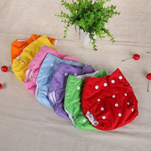 Reusable Toddler Baby Kid Waterproof Soft Washable Breathable Diaper Panties NEW