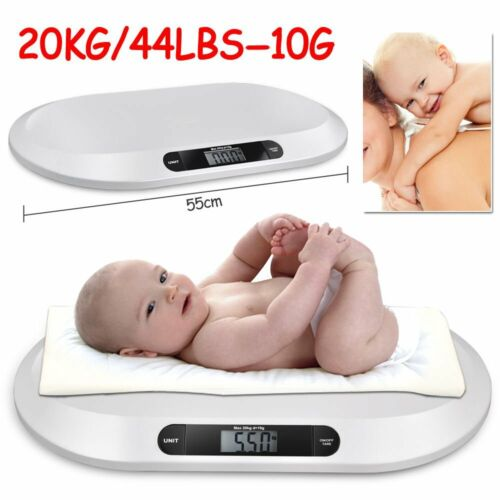 Digital Baby Scale Infant Pet Dog Small Animal Kittens Weighing Scales 20kg 44lb <br/> High Quality√20KG LCD Digital√Kg/Lbs/St√Fast Delivery√