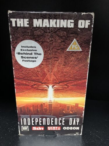 the making of INDEPENDENCE DAY VHS