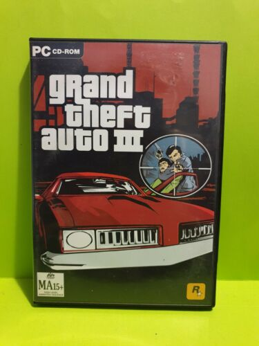 Grand Theft Auto III (INSTALL DISC ONLY) 🕹️ PC GAME 🕹 FREE POST