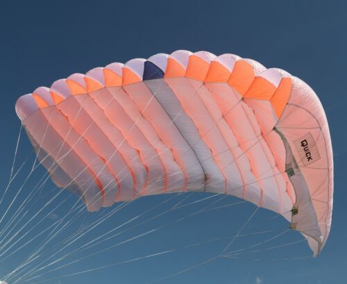 Quick 150 skydiving parachute reserve canopy - 7 cell - F111 - mint shapeParachutes - 184373