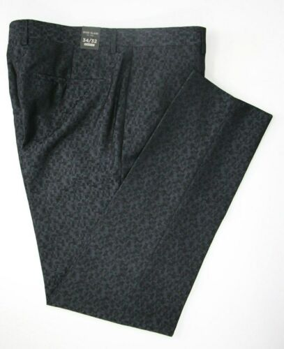 Men's River Island Skinny Fit Navy Blue Trousers (34R).. Sample 4709