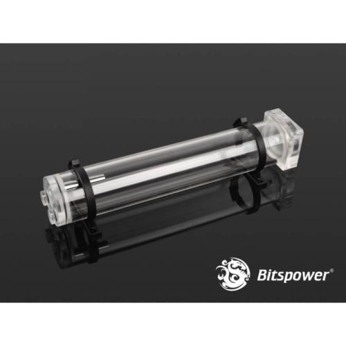 Bitspower DDC Pump Top With Reservoir Kit (300mm) - Clear/Clear