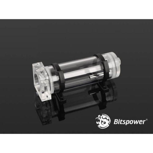 Bitspower DDC Pump Top With Reservoir Kit (150mm) - Clear/Clear