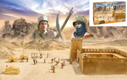 Beau Geste Algerian Touareg Revolt Battle Set 1877-1912 Plastic Kit 1:72 Model