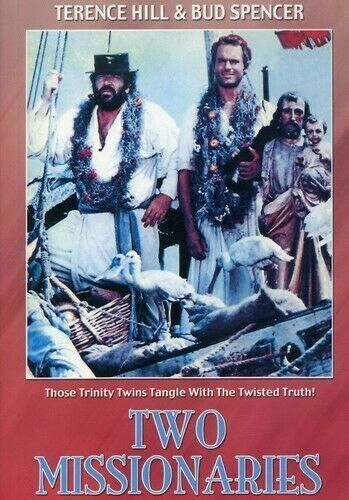 Two Missionaries DVD Terence Hill Bud Spencer New Sealed Australia All Regions
