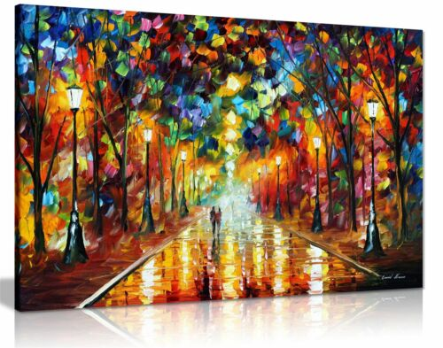 Leonid Afremov Abstract Oil Painting Canvas Wall Art Picture Print Living Room <br/> Official Licensed Art.Huge Selection of Designs & Sizes